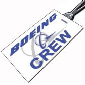 Boeing Crew Tag